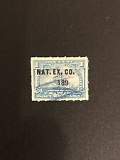 Us Sc# R163 Stamp 1 cent Documentary Battleship Overprint NAT. EX. CO. 189