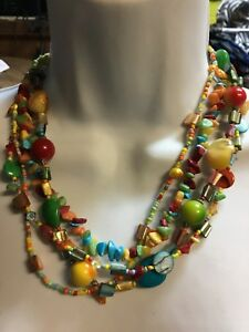 Beautiful   Very Colorful Necklase