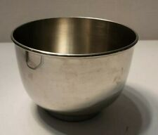 """Vintage Stainless Sunbeam 6.25"""" Stand Mixer Bowl 1.5 Qt. #1678"""