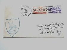 Steamboat, St. Louis Zephyr cancel, 1954, #994 & 1061 affixed, for Ship Collectr