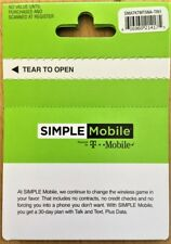 Simple Mobile $40 Plan Refill Card Re Up Top Up - 6Gb 4G Free Shipping
