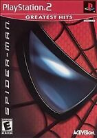Spider-Man (Sony PlayStation 2, 2002) Complete Game With Manual PS2