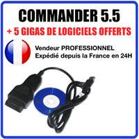 Cable Diagnostique COMMANDER VGA CAN 5.5 Compatible avec Audi Skoda VW Seat