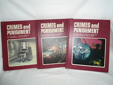 Crimes and Punishment a Pictorial Encyclopedia of Aberrant Behavior ~ Vol 1-3