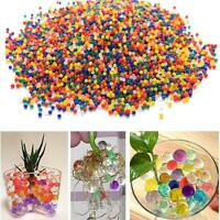 8000 Mega Water Beads Aqua Gems Bio Gel Balls Crystal Soil Wedding Vase Deco
