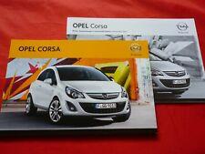 OPEL CORSA D Manuale d/'uso /& manutenzione 01//2013 anche OPC manuale di istruzioni