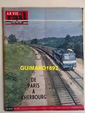 La Vie du Rail n°974 13 décembre 1963 De Paris à Cherbourg