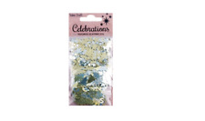 Gold & Silver Christmas Scatters - Stars / Xmas Trees / Merry Christmas Words