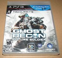 Tom Clancys Ghost Recon Future Soldier (PlayStation 3) Brand New / Fast Shipping
