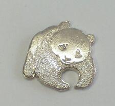 Spilla da giacca ( pins ) col PANDA simbolo del WWF in ARGENTO 925