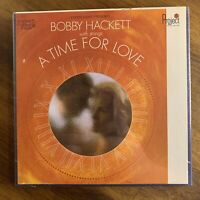 SEALED 4 TRACK REEL TO TAPE BOBBY HACKETT WITH STRINGS A TIME FOR LOVE PROJECT