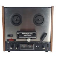 Vintage Tape Deck TEAC A-1030  Reel to Reel Player Turns On Parts & Repair