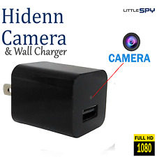 Hidden Camera Usb Wall Charger | 1080P Hd| Free 32Gb Sd Card | Nanny Cam