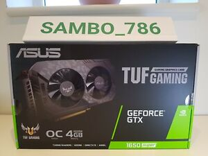 ASUS GeForce GTX 1650 SUPER 4GB TUF GAMING OC Turing Graphics Card