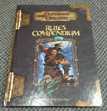 Rules Compendium for Dungeons & Dragons  3.5 / D20 / 3E WOTC