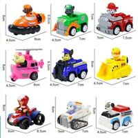 Paw Patrol Mini Car toy Set Vehicles Pullback cars Police Truck Helicopters
