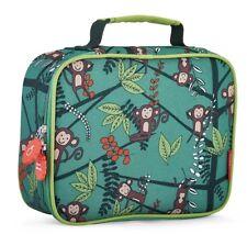 Cheeky Kids - Insulated Kids Lunch Bag Monkeys Jungle Sturdy Tough