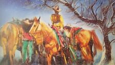 "William Verdult ""Time to Ride"" Limited Edition Lithograph, hand signed   w/COA"