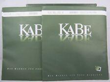 KABE Einsteckblätter STELLA 1, transparent mit 1 Tasche, 5er Pack (320856)