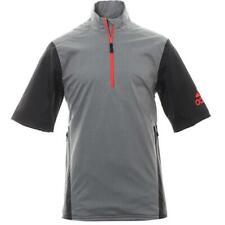 NEW! Mens Adidas Golf Climaproof Waterproof Short Sleeve Rain Jacket Reg $170