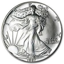 Stempelglanz Silber Münzen aus den USA