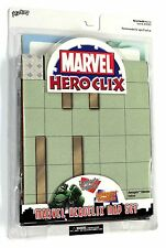 HEROCLIX MARVEL MAP SET Xavier's School & Avengers Mansion SEALED SIGILLATO