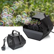 Electric Bubble Machine Blower Machine DJ Disco Club Bubbles Maker Party Stage