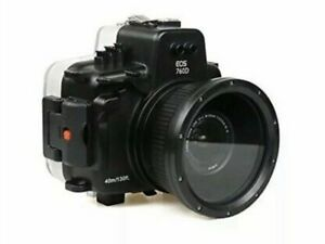 Polaroid SLR Dive Rated Waterproof Underwater Housing  Canon T6S 18-135mm Lens