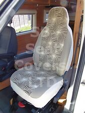 TO FIT A FIAT DUCATO MOTORHOME, 2014, SEAT COVERS, STARBURST, 2 FRONTS