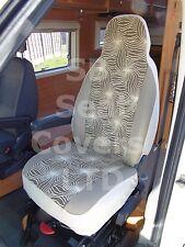 Para adaptarse a un PEUGEOT BOXER AUTOCARAVANA, de 2003, cubiertas de asiento, S