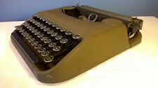Vintage Antique Typewriter Corona Zephyr LC Smith 1930's Case Good Condition