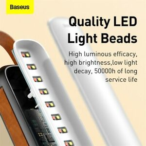 Baseus 5V Car Truck LED Solar Emergency Light Flash Lamp Dimmable Fast Charging