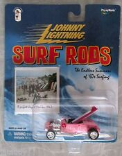 JOHNNY LIGHTNING SURF RODS MALIBU BABES convertible surf long board photo car