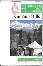 Trekking Map of Kumaun Hills, India, by Survey of India Trekking Map Series
