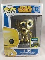 Star Wars Funko Pop - C-3PO (Chrome) - SDCC Exclusive - No. 13