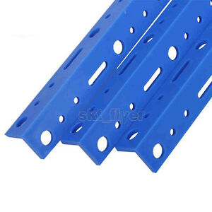 5pcs Blue 20cm Plastic Connect Strip Fix Rod Frame For DIY Robotic Car Model Toy