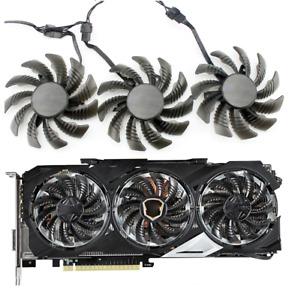 T128010SU Cooler Fan For Gigabyte GTX980Ti GTX 980 TITAN X 78MM PLD08010S12HH