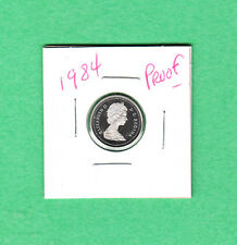 1984 Canadian 10 Cent Dime From the Proof Set