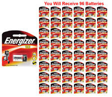 96x Energizer CR123A Battery CR123 CR 123 Lithium 3V Photo Carded (1-Pack) FRESH