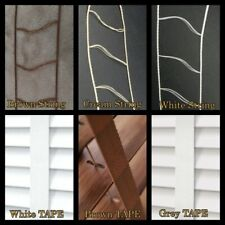 25mm & 50mm VENETIAN BLINDS LADDER STRINGS & TAPES - COLOUR OPTIONS - SPARE PART