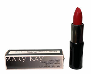 Mary Kay Creme Lipstick, Color REALLY RED, Vitamin E & C, Instant Moisture