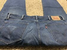LEVI'S 505 REGULAR FIT DESIGNER MEN'S JEANS SIZE 40X30