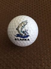 LOGO GOLF BALL-ALASKA...FISH...TROUT OR SALMON LOGO......,.NEW!