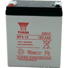 Yuasa NP4-12 F1 Sealed Lead Acid Battery 12V 4AH Replaces Enersys Genesis SLA
