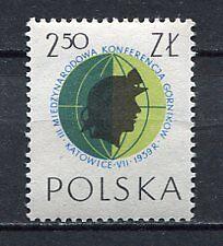 35659) POLAND 1959 MNH** Miners' Conf., Katowice 1v