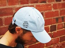 ASSC Baby Blue dad cap hat travis scott pablo yeezy canvas strap back soft new