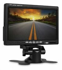 "Wicked HD Car Rear view Backup Rotating Color LCD TFT Monitor 7"" Inch Screen"