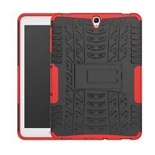 HIBRIDO exteriores Funda protectora roja para Samsung Galaxy Tab S3 9.7 t820