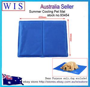 2/PK Small Cooling Pet Mat Puppy Cat Bed Teddy Mattress Mat Cooling,Blue93454