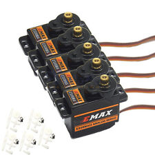 5 x EMAX ES08MAII 12g/ 2.0kg Mini Metal Gear High-Speed 9g Servo Upgrade ES08MA